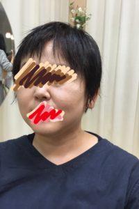 短めのショートヘアにパーマをかけてみました (*^o^*)